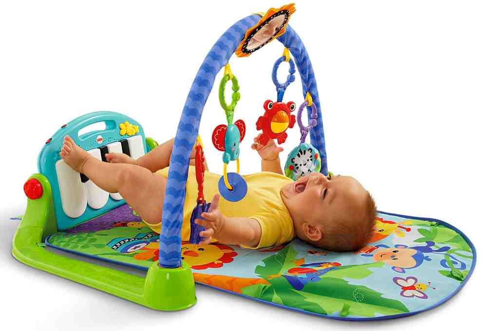 el mejor gimnasio para bebes piano pataditas Fisher-Price
