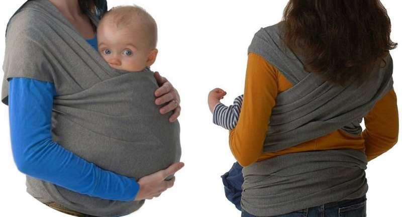 el mejor Fular portabebés elastico para llevar al bebé
