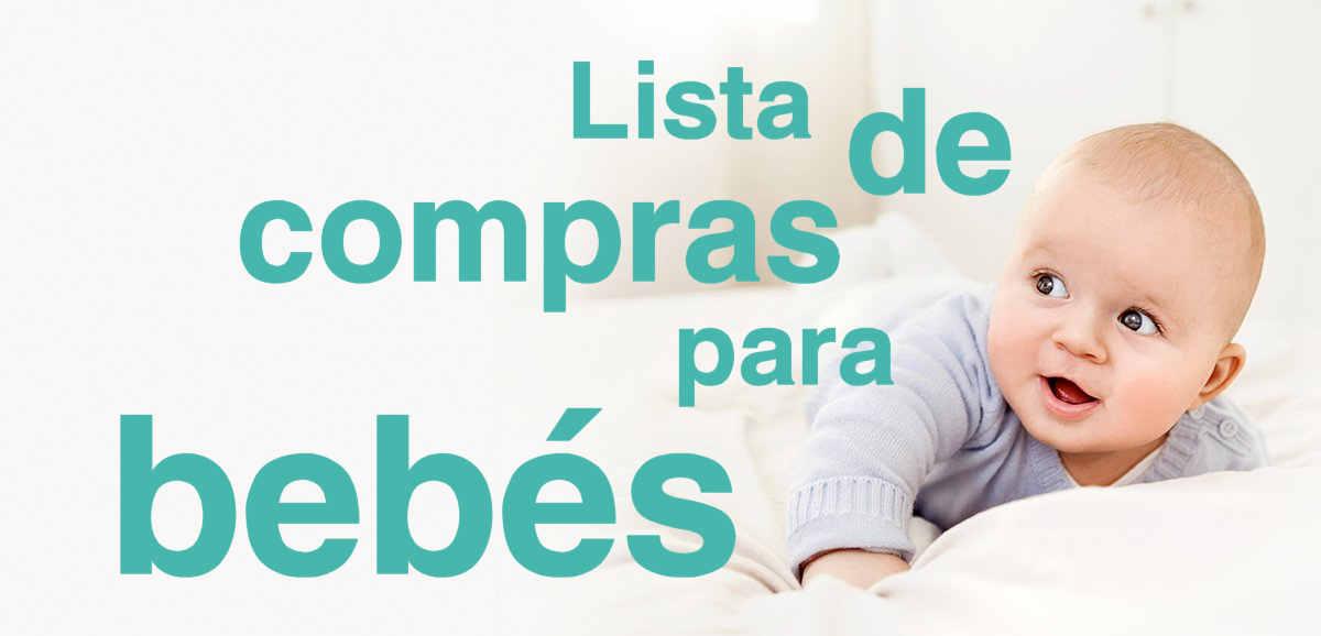 Lista De Cosas Para Bebes Recien Nacidos.Lista De Compras Para Bebes 2019
