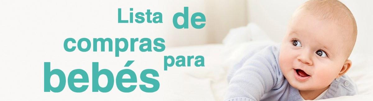 Lista de compras para bebes